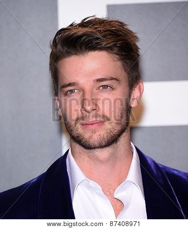 LOS ANGELES - FEB 20:  Patrick Schwarzenegger arrives to the Tom Ford Autumn/Winter 2015 Womenswear Collection Presentation  on February 20, 2015 in Hollywood, CA