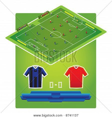 soccer games formation match