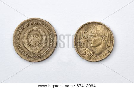 Ten Yugoslava Dinars