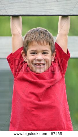 Boy With Big Smile