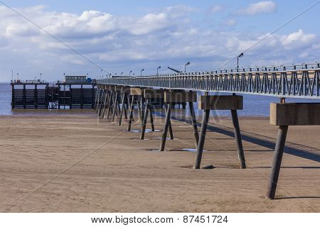Steel And Concrete Pier Manmade Structure
