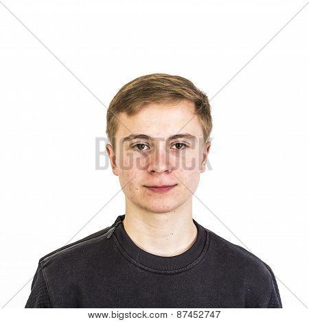 Sixteen Years Old Caucasian Boy