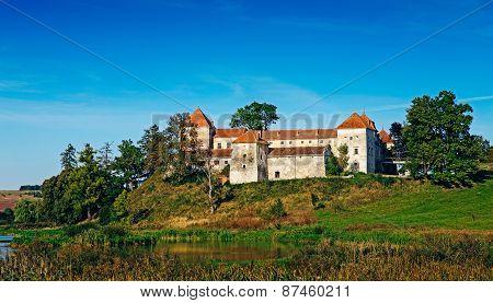 Svirzh Castle In Ukraine