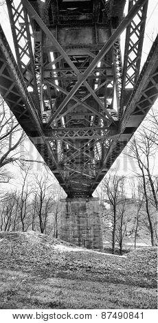 Steel Trestle Bridge