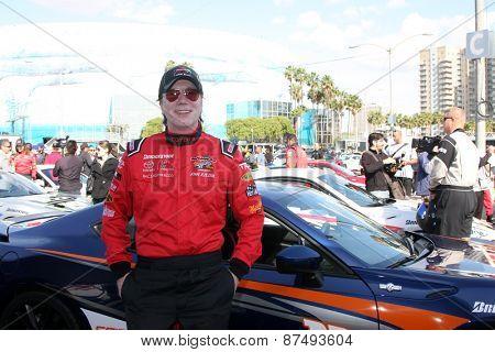LOS ANGELES - FEB 7:  John Rzeznik at the Toyota Grand Prix of Long Beach Pro/Celebrity Race Press Day at the Grand Prix Compound on FEB 7, 2015 in Long Beach, CA