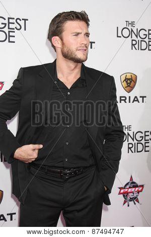 LOS ANGELES - FEB 6:  Scott Eastwood at the