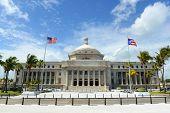 Puerto Rico Capitol (Capitolio de Puerto Rico) is a Beaux-Arts Building at downtown San Juan, Puerto Rico. poster