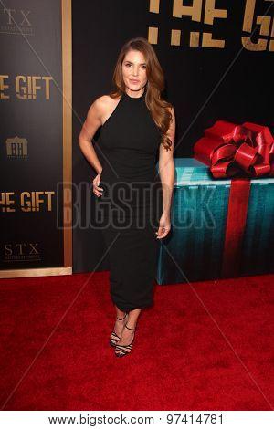 LOS ANGELES - JUL 30:  Nikki Moore at the