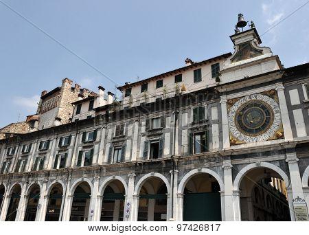 Astronomical Clock In Brescia