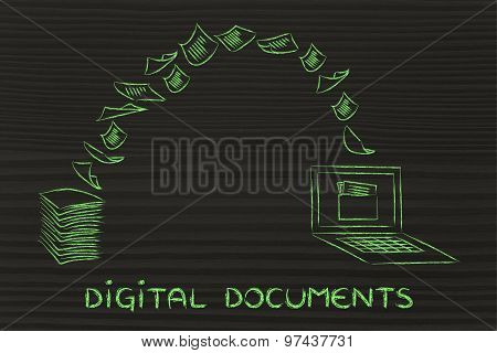 Digital Documents: Scanning Paper And Turning It Into Data