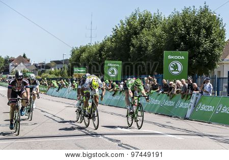 The Sprint - Tour De France 2015