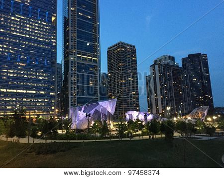 Maggie Daley Park Climbing Wall