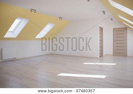 Spacious Loft In Modern House