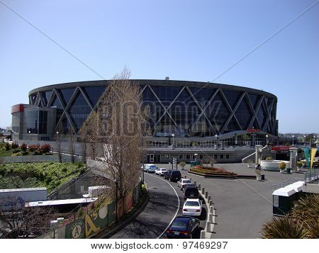 Oracle Arena In Oakland