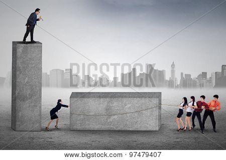 Manager Shouting On His Subordinates
