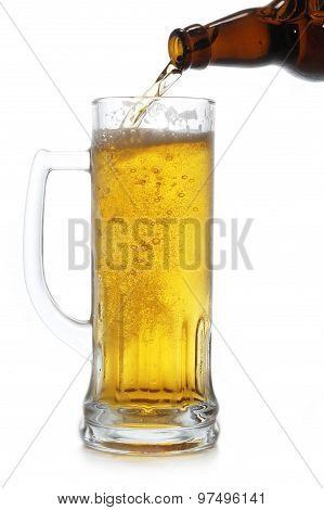 Beer Bottle And Mug
