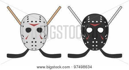 Horror Hockey Mask For Halloween