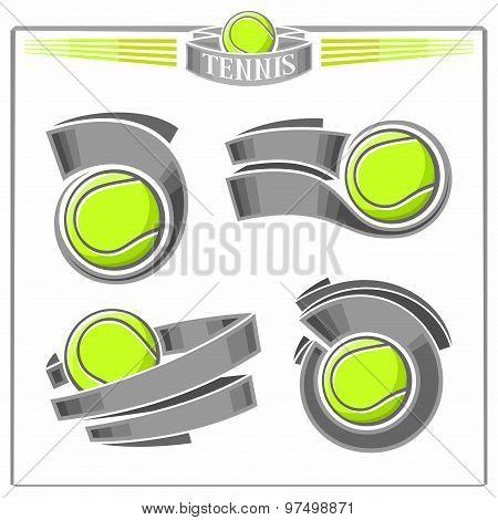 Tennis emblems