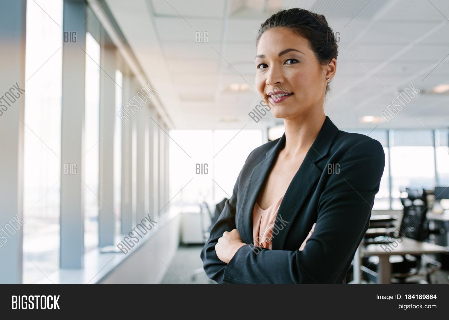 portrait mature businesswoman image & photo | bigstock