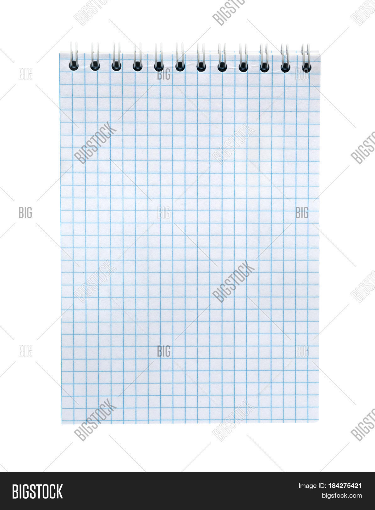 blank notebook paper image photo free trial bigstock