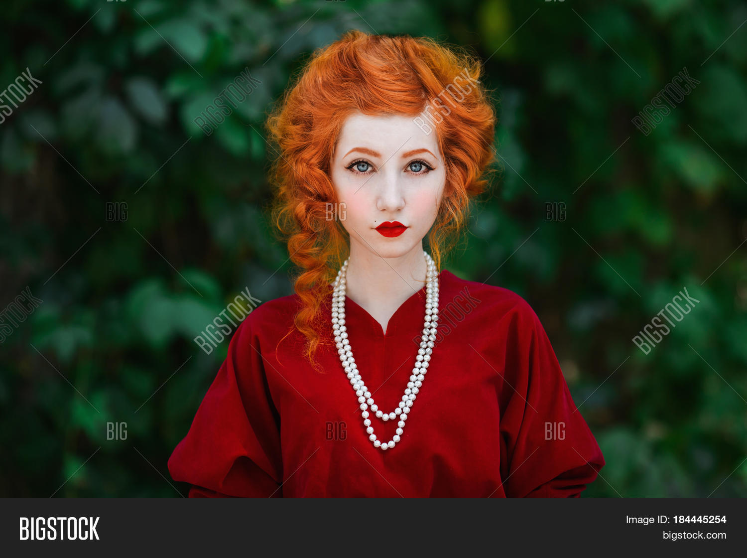 Cute Woman Red Hair Image & Photo (Free Trial)  Bigstock
