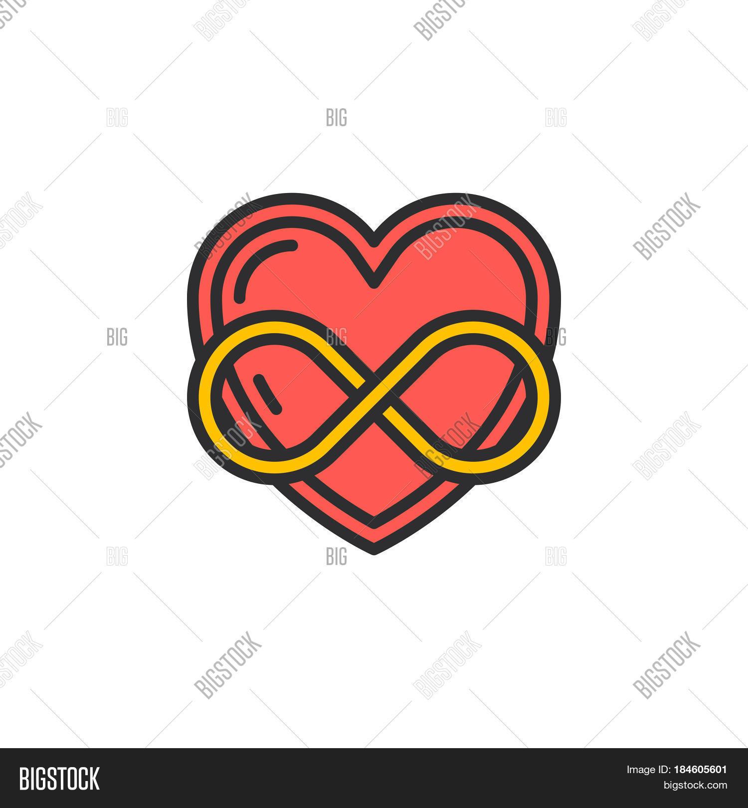 by deviantart art on wallpaper symbol love infinite infinity