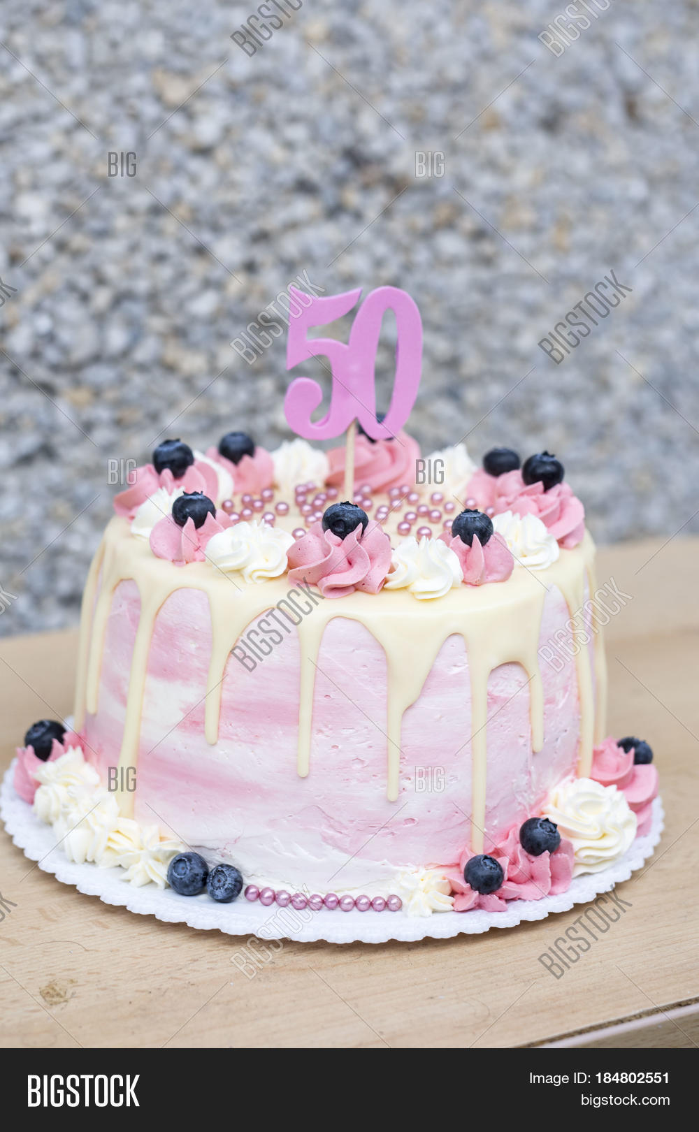 Homemade Birthday Cake For 50 Year Old Woman