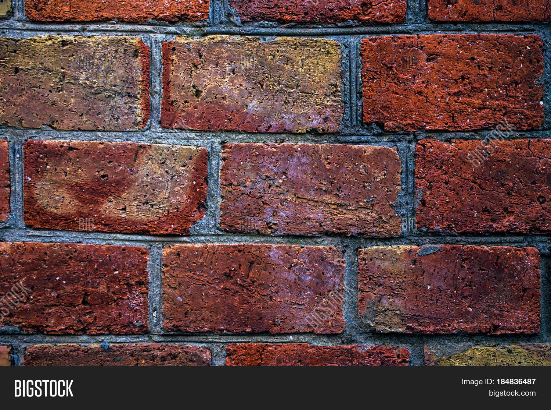 Brick Wall Of Red Old Masonry