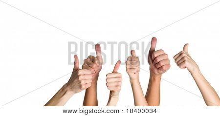 success: thumbs up