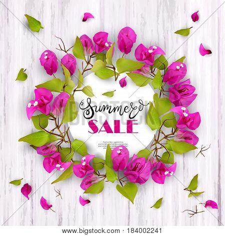3d, tropical, flowers, summer, lettering, tropic, frame, isolated, advertising, bud, petal, blossom, leaves, shoots, wood, advertisement, pattern, seasonal, realistic, bloom, business, blooming, plants, floral, bunch, bouquet, bougainvillea, season, backg