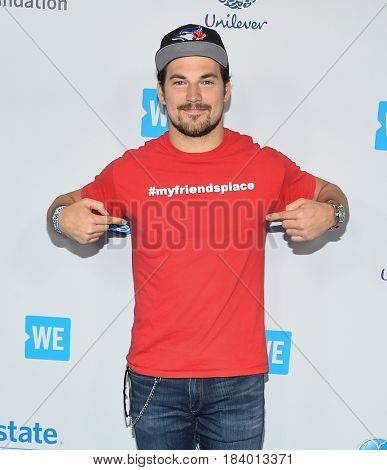 LOS ANGELES - APR 18:  Giacomo Gianniotti arrives for the WE Day California 2017 on April 27, 2017 in Inglewood, CA