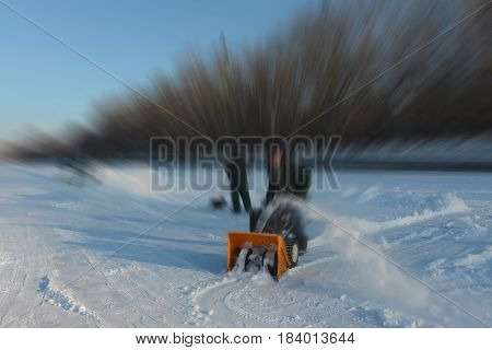 Blur Wakeboard- Snow Removal