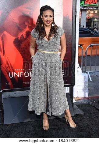 LOS ANGELES - APR 18:  Tracie Thoms arrives for the