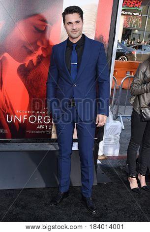 LOS ANGELES - APR 18:  Brett Dalton arrives for the