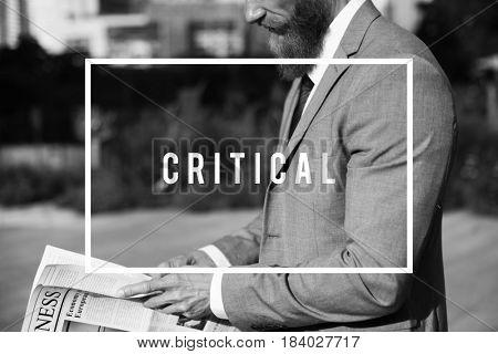 Critical Demanding Analytical Business