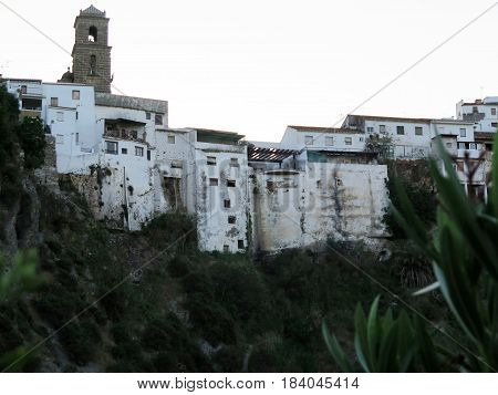 The Ugly side of Village of Alora in Andalusia