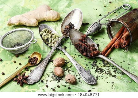 Herbs And Spices For Tonic Tea