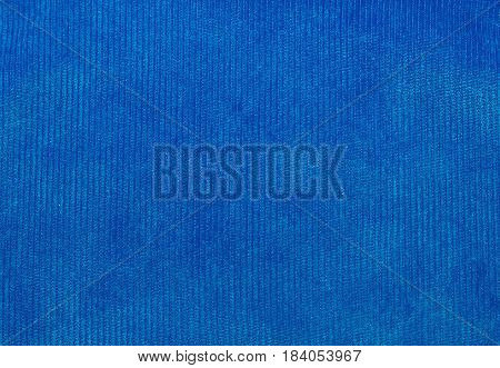 velvet fabric texture blue for backgrounds and textures