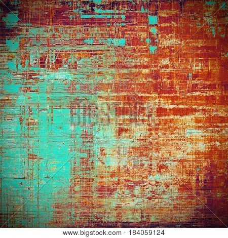 Old abstract grunge background for creative designed textures. With different color patterns: yellow (beige); brown; blue; red (orange); purple (violet)