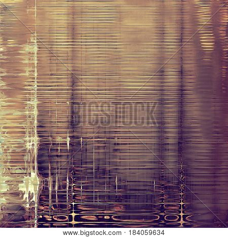 Abstract grunge background or damaged vintage texture. With different color patterns: yellow (beige); brown; gray; purple (violet); pink