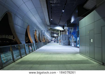 The Walk Way At Kai Tak Cruise Terminal