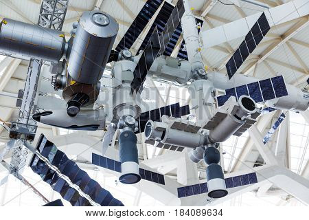 model of the international space station ISS