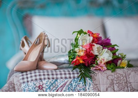 Bridal wedding shoes wedding, beauty marriage  beautiful,