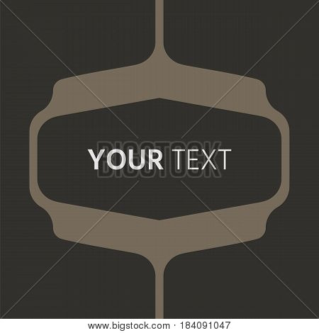 Dark grey vector geometric background can be used in cover design, book design,  website background, CD cover, advertising.