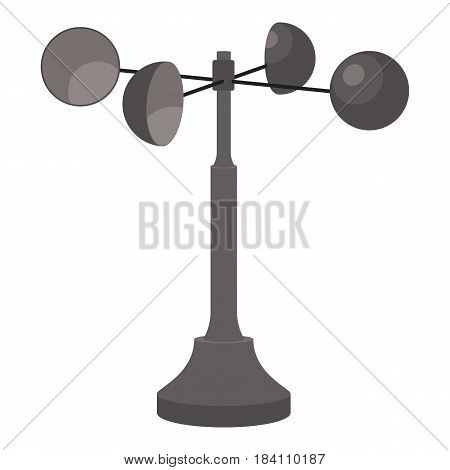 Anemometer icon. Cartoon illustration of anemometer vector icon for web