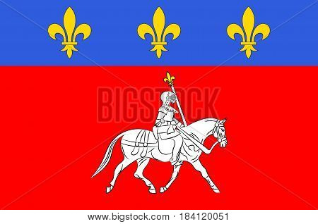 Flag of Cognac is a commune in the Charente department in southwestern France