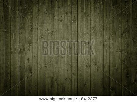 donkere houten panelen