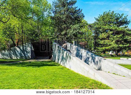 Monumento Alla Resistenza Europea (european Resistance War Memorial) In Como (hdr)