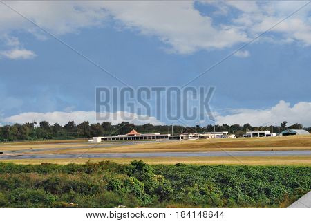 Tinian International Airport, Northern Mariana Islands Also known as West Tinian Airport