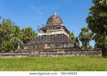 Wat Visounnarath or Makmo temple at Luang Prabang, Loas.